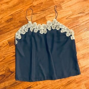Listicle Silk Lace Camisole